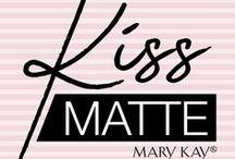 KissMatte Mary Kay® / Dale la bienvenida al color intenso para tus labios, con los Nuevos Labiales KissMatte de Mary Kay®, en tonalidades mate.  Formulados para resaltar la belleza de tus labios sin resecarlos.