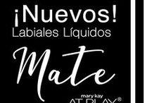 Labiales Mate At Play Mary Kay® / Resalta tu personalidad y encuentra tu forma de expresarte con los tonos mate de Mary Kay® At Play.