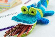 Crochet, amigurumi and knitting / Crochet inspirations, techniques, patterns and motifs