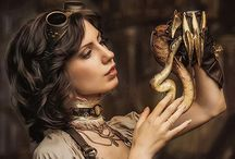 Steampunk / Steampunk and fantasy clothes, accessories, decor