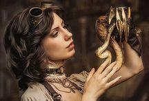 Steampunk / Steampunk and fantasy clothes, accessories, decor