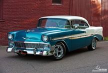 Vintage Vehicles / You can't beat these retro classic lines. Today's cars are mostly dull imitations!
