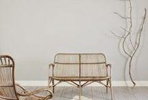 White and serene interior design