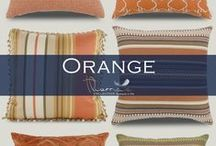 Orange Accent Home Decor