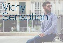 Outfit - Vichy Sensation / Las camisas de cuadros son una prenda indispensable para el hombre. Esta temporada, vemos como los cuadros son tendencia pero en una versión un poco más grande de lo habitual.