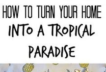 Tropical Home Ideas
