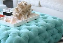 Blue Home Decor / Blue Home Décor, Decorating with Blue, Adding Blue to a Room, I love Blue, Add a pop of blue