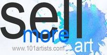 "Sell More Art - Artist Marketing Tips / Sell More Art - Artist Marketing Tips - Art Marketing Coach - Artist-to-Artist Marketing and PR Assistance, Training and Help! Working artists and marketing consultant can help you improve your ""artist brand,"" bring more eyeballs to your art and increase your visibility for collectors online. http://www.101artists.com / http://www.artmarketing101.com"