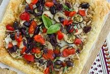 Pizzas, focaccias y quiches