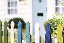 Painted Fences