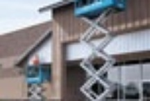 Scissor Lifts / A selection of diesel or battery scissor lifts are available for hire from HSS.   #hss #hsshire #toolhire #equipmenthire #scissorlift #scissorlifthire #lifthire #lifts #access #poweredaccess