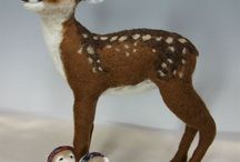 Felting / Animals, dragons and elves comes to life in the fantasy world of Felting.