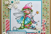 Cards - Cute Stamps / Cards made with stamps. High Hopes, Sweet Pea, Whiff of Joy,  Nellie Snellen and more.