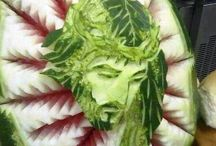 Edible Art / Amazing artwork with real food
