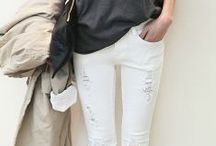 White Wash / White Denim / by Alapage Boutique