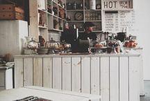 Cafe / Inspirasjon til interiør