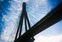 Rio / Behind the bridge.