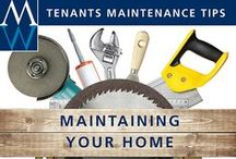 Cleaning & Maintenance Tips / Tips for cleaning & maintaining your home and your appliances