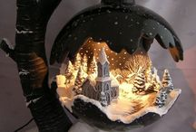 Dreamworlds / fantasy worlds made of clay and other matherials...