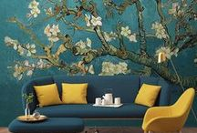 HOME: living room / #walls #decoration #plants