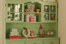 china cabinets / by Gloria Washington