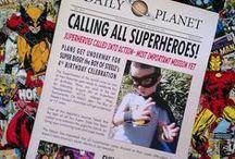 I <3 Parties: Superhero