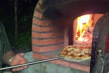 Pizza Oven / This outdoor pizza oven is made in Italy. It's fantastic for making pizzas, roasts and much much more! Great entertainment.