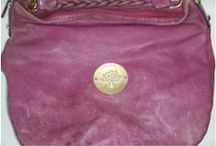 Mulberry Handbags / Photos of stained, damaged, torn, dirty and worn out Mulberry handbags and purses that we have lovingly cleaned and restored.