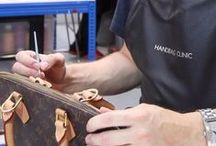 Louis Vuitton / Photos of stained, damaged, torn, dirty and worn out LV handbags, bags and purses that we have lovingly cleaned and restored.
