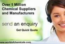 Buy Chemicals Online / World of chemicals - Chemical Search Engine deals with various industrial chemicals manufacturers, suppliers and traders details over 1 million chemicals listed under 100 different industrial category