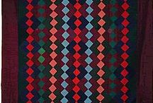 Quilts Made With Solid Fabrics