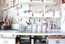 Closet/Sewing room ideas