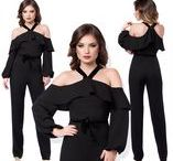 Elegant jumpsuits & rompers for women