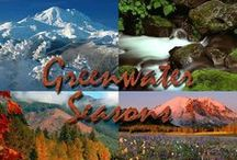 Greenwater, WA / Scenic Photography, vanostrom.com, Hiking,  Skiing,  Snowshoeing, Rivers, and Lakes