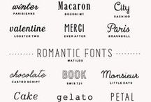 Printables: Fonts