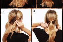 How to: hairstyles / Tutorials