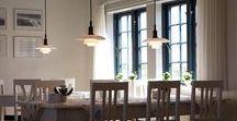 Освещение столовой