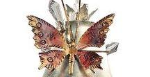 Светильники с бабочками