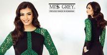 Rochii Verzi Miss Grey