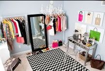 FABULOUS CLOSETS / My California Closet dreams- a huge dressing room for all my wares & wears. Storage of clothes, accessories, shoes, etc. / by J. Parker