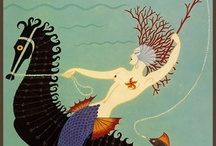 "Mermaid Art / ""I sat upon a promontory,