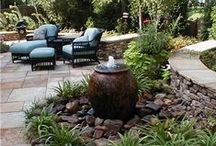 Living: backyard life / Living outside. Backyard landscaping and decor with style.