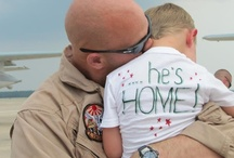 No Place Like Home / Images of troops coming home and being welcomed by their families, friends and loved ones.