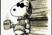 """""""Good Grief, Charlie Brown!"""" / Peanuts is a syndicated daily and Sunday American comic strip written and illustrated by Charles M. Schulz, which ran from October 2, 1950, to February 13, 2000, continuing in reruns afterward.  / by Janice Hartley"""