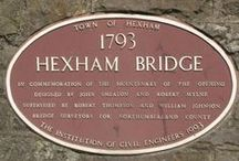 Plaques - how many have you seen? / ICE Panel for Historical Engineering Works and the ICE regions work together to put up plaques to commmorate historic engineers and structures. Many, but not all, plaques are linked to an anniversary.  Let us know if you spot one.