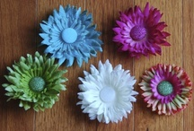 Joli Good Flowers / Express your individuality with these beautiful handcrafted flower clips.  Ready to ship today, only $4 each. Order at info@joligood.com or visit Joligood.com
