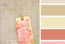 Living with color / Soft and tranquil color palettes for any room.