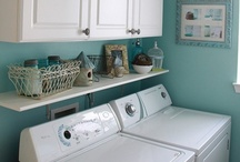 Laundry & Bathrooms / by Jeanette Bruce