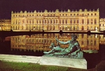 Palace of Versailles~ / The Palace of Versailles is one of the finest jewels of the French Crown and one of the most extravagant buildings in the world.  It was the residence of King Louis XVI.  He married Marie Antoinette, Princess of Austria, when she was 14 yrs old.  The palace could accomodate 5,000 people, has 700 rooms, 1,250 chimneys, 15 social rooms, 67 staircases,  and the total floor space totals 16,550 acres.  In today's money the palace cost was $2 billion.  It is the ultimate in opulence and luxury. / by Paula Tramonte