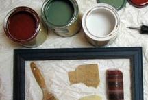 Paint Techniques & Decor Ideas / by Jeanette Bruce